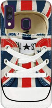 All Star Basket shoes Union Jack London Case for Samsung Galaxy A40