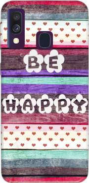Be Happy Hippie Case for Samsung Galaxy A40