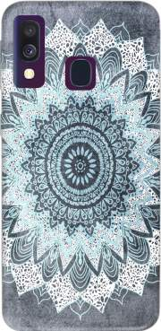 Bohochic Mandala in Blue Case for Samsung Galaxy A40