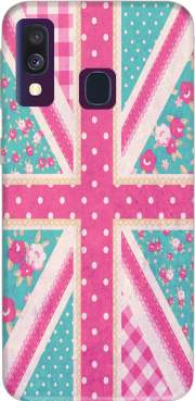 British Girls Flag Samsung Galaxy A40 Case