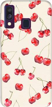 Cherry Pattern Case for Samsung Galaxy A40