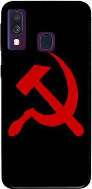 Communist sickle and hammer Samsung Galaxy A40 Case