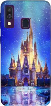 Disneyland Castle Case for Samsung Galaxy A40