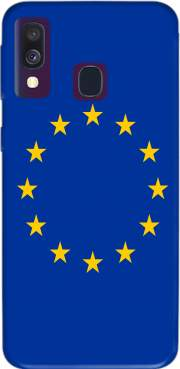 Europeen Flag Samsung Galaxy A40 Case