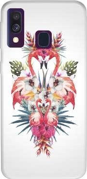 Flamingos Tropical Case for Samsung Galaxy A40