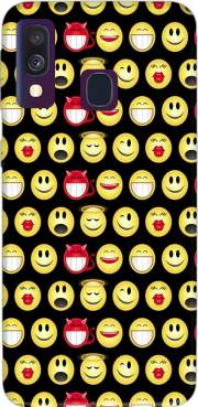 funny smileys Case for Samsung Galaxy A40