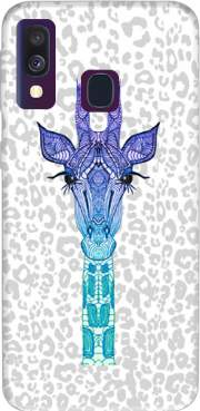 Giraffe Purple Case for Samsung Galaxy A40