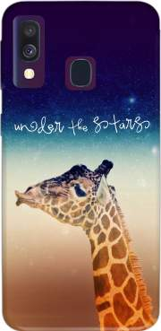 Giraffe Love - Right Case for Samsung Galaxy A40