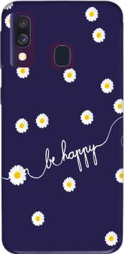 Happy Daisy Case for Samsung Galaxy A40