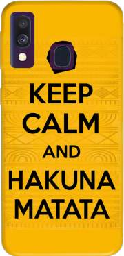 Keep Calm And Hakuna Matata Case for Samsung Galaxy A40