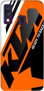 KTM Racing Orange And Black Case for Samsung Galaxy A40