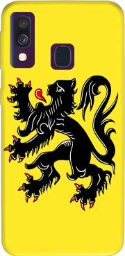 Lion des flandres Samsung Galaxy A40 Case