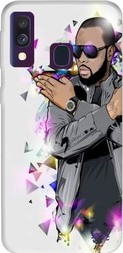 Maitre Gims - zOmbie Case for Samsung Galaxy A40