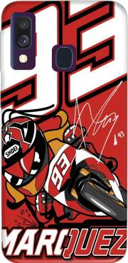 Marc marquez 93 Fan honda Case for Samsung Galaxy A40