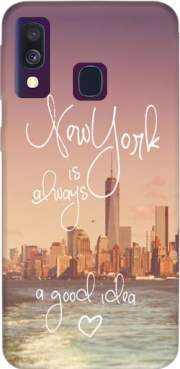 Always New York Case for Samsung Galaxy A40