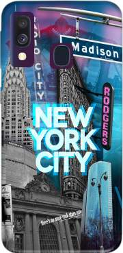 New York City II [blue] Case for Samsung Galaxy A40