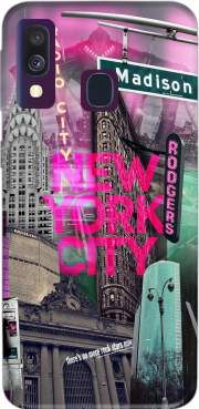 New York City II [pink] Case for Samsung Galaxy A40