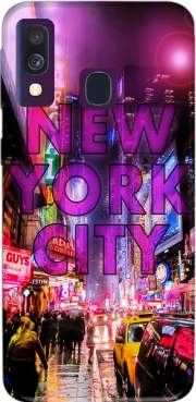 New York City - Broadway Color Case for Samsung Galaxy A40