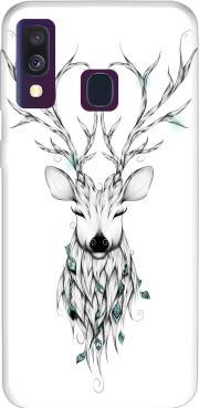 Poetic Deer Samsung Galaxy A40 Case