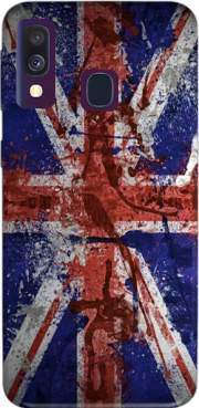 Union Jack Painting Case for Samsung Galaxy A40