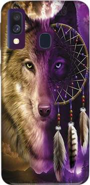 Wolf Dreamcatcher Samsung Galaxy A40 Case