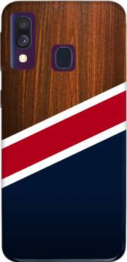 Wooden New England Case for Samsung Galaxy A40