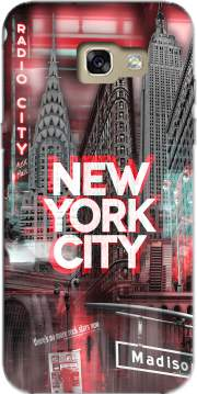 New York City II [red] Case for Samsung Galaxy A5 2017