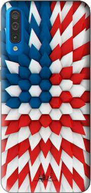 3D Poly USA flag Case for Samsung Galaxy A50