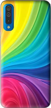 Rainbow Abstract Case for Samsung Galaxy A50