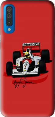 Ayrton Senna Formule 1 King Case for Samsung Galaxy A50