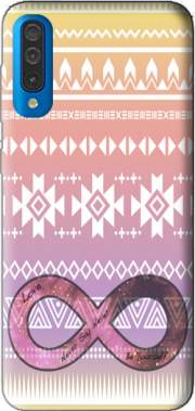 Pink Aztec Infinity Case for Samsung Galaxy A50