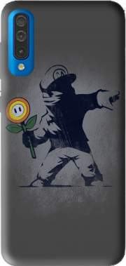 Banksy Flower bomb Case for Samsung Galaxy A50