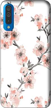 Cherry Blossom Aquarel Flower Samsung Galaxy A50 Case