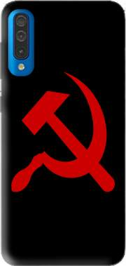 Communist sickle and hammer Samsung Galaxy A50 Case