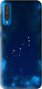 Constellations of the Zodiac: Scorpio Case for Samsung Galaxy A50