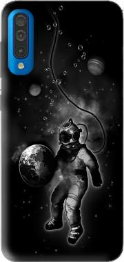 Deep Sea Space Diver Case for Samsung Galaxy A50