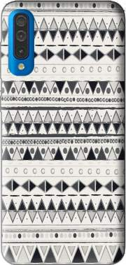 Ethnic Candy Tribal in Black and White Case for Samsung Galaxy A50
