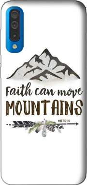 Faith can move montains Matt 17v20 Bible Blessed Art Case for Samsung Galaxy A50