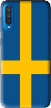 Flag Sweden Case for Samsung Galaxy A50