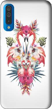 Flamingos Tropical Case for Samsung Galaxy A50