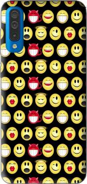 funny smileys Case for Samsung Galaxy A50