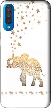 Gatsby Gold Glitter Elephant Case for Samsung Galaxy A50