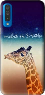 Giraffe Love - Right Case for Samsung Galaxy A50