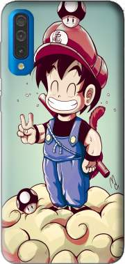 Goku-mario Case for Samsung Galaxy A50