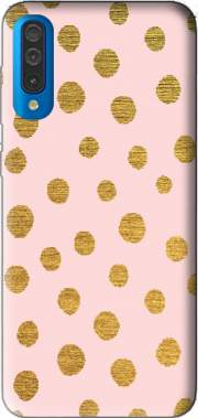 Golden Dots And Pink Case for Samsung Galaxy A50