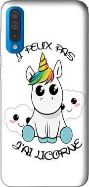 Je peux pas j'ai licorne Case for Samsung Galaxy A50