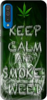 Keep Calm And Smoke Weed Case for Samsung Galaxy A50