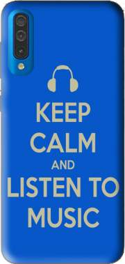 Keep Calm And Listen to Music Case for Samsung Galaxy A50