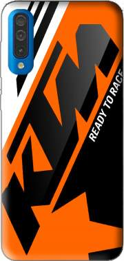 KTM Racing Orange And Black Case for Samsung Galaxy A50