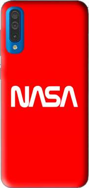 Nasa Red Logo Fail Case for Samsung Galaxy A50